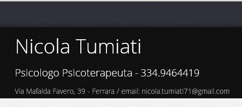 Psicologo Ferrara